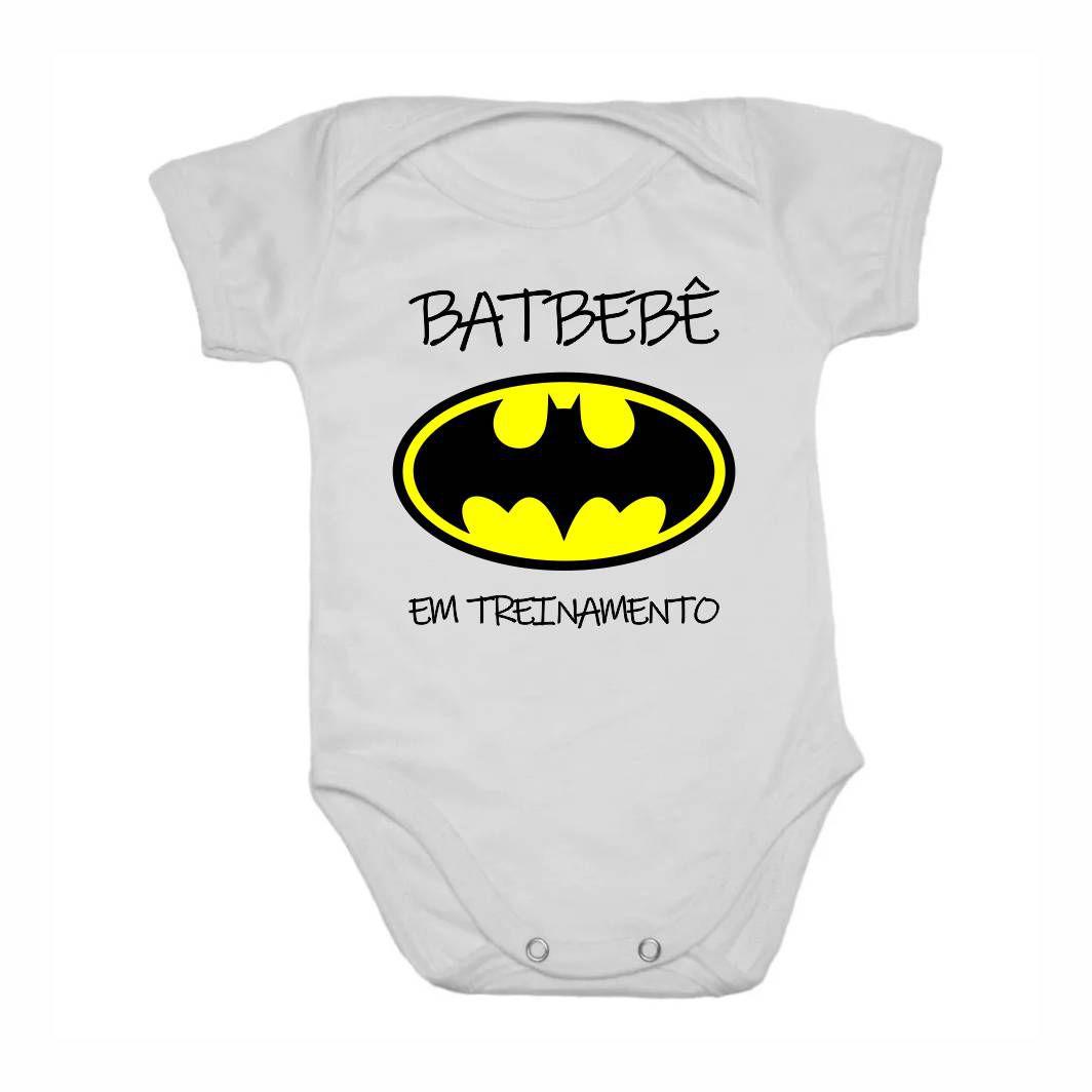Body Bebê Geek Batbebê em Treinamento - M - Dino Games - A Loja ... 9b63fd72c45