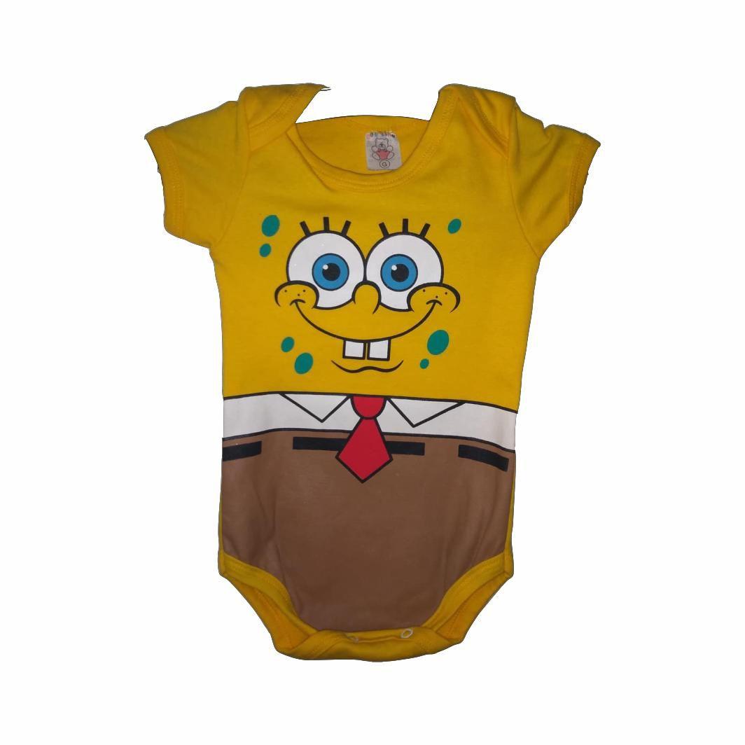 Body Infantil Bob Esponja - G
