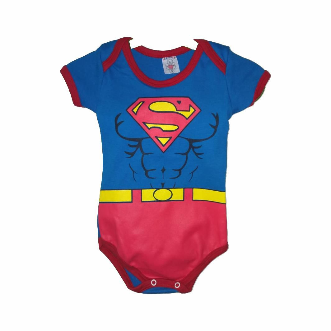 Body Infantil Superman - DC - G
