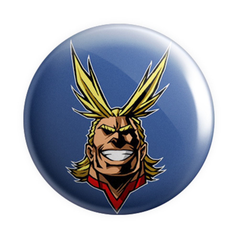 Botton All Might - Boku no Hero - 6X6