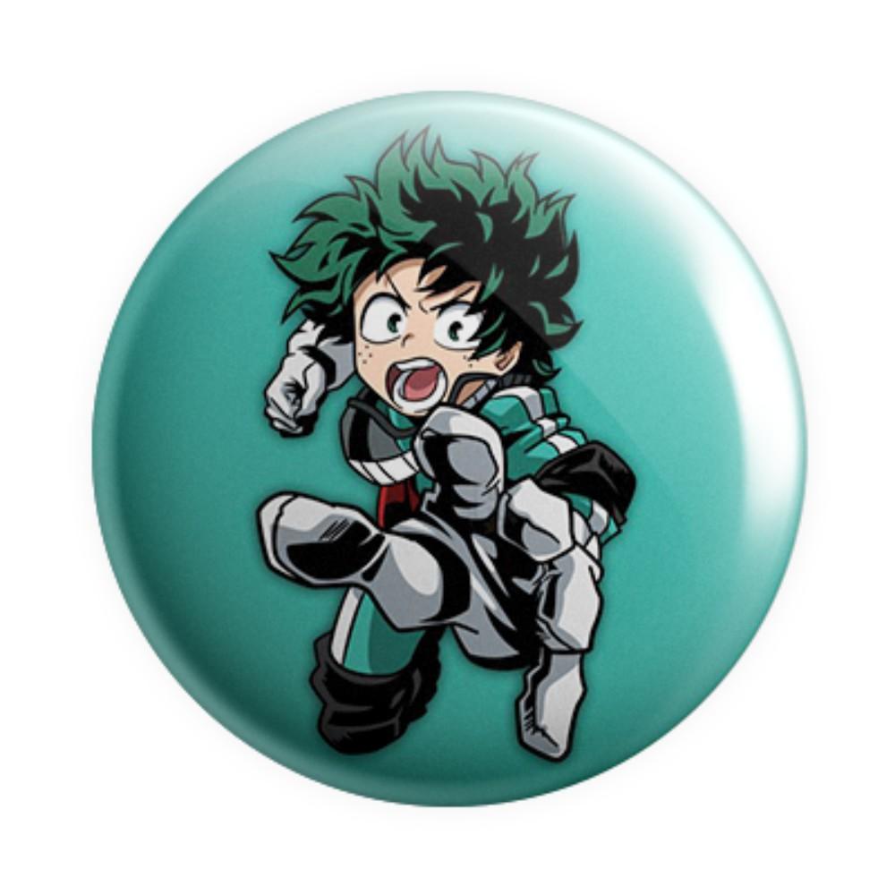 Botton Button Geek Boku no Hero Midoriya