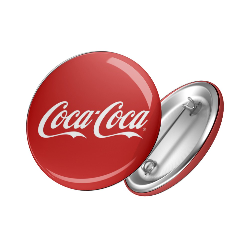 Botton Coca Cola - 6X6