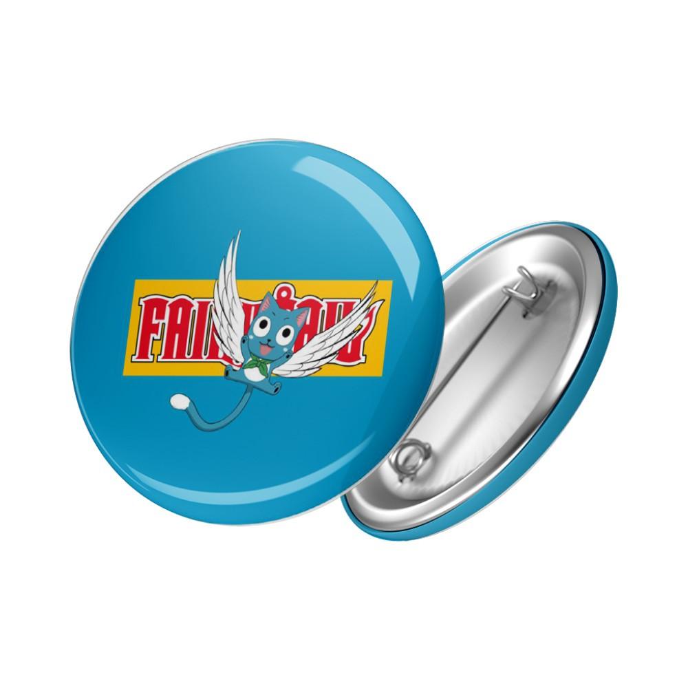 Botton Happy - Fairy Tail - 6X6