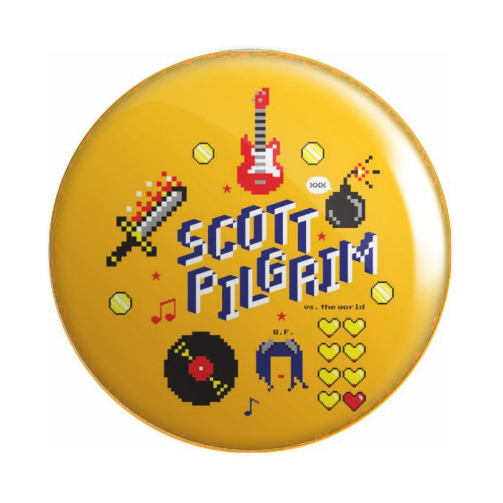 Botton Scott Pilgrim - 6X6