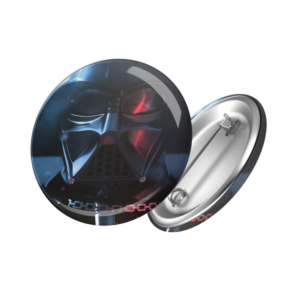 Botton Darth Vader - Star Wars - 6X6