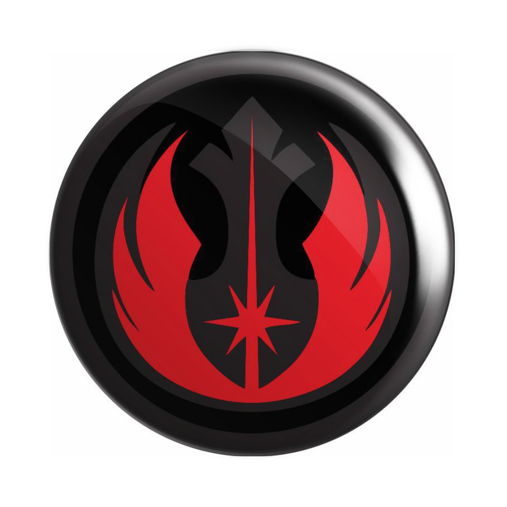 Botton Aliança Rebelde e Ordem Jedi - Star Wars - 6X6