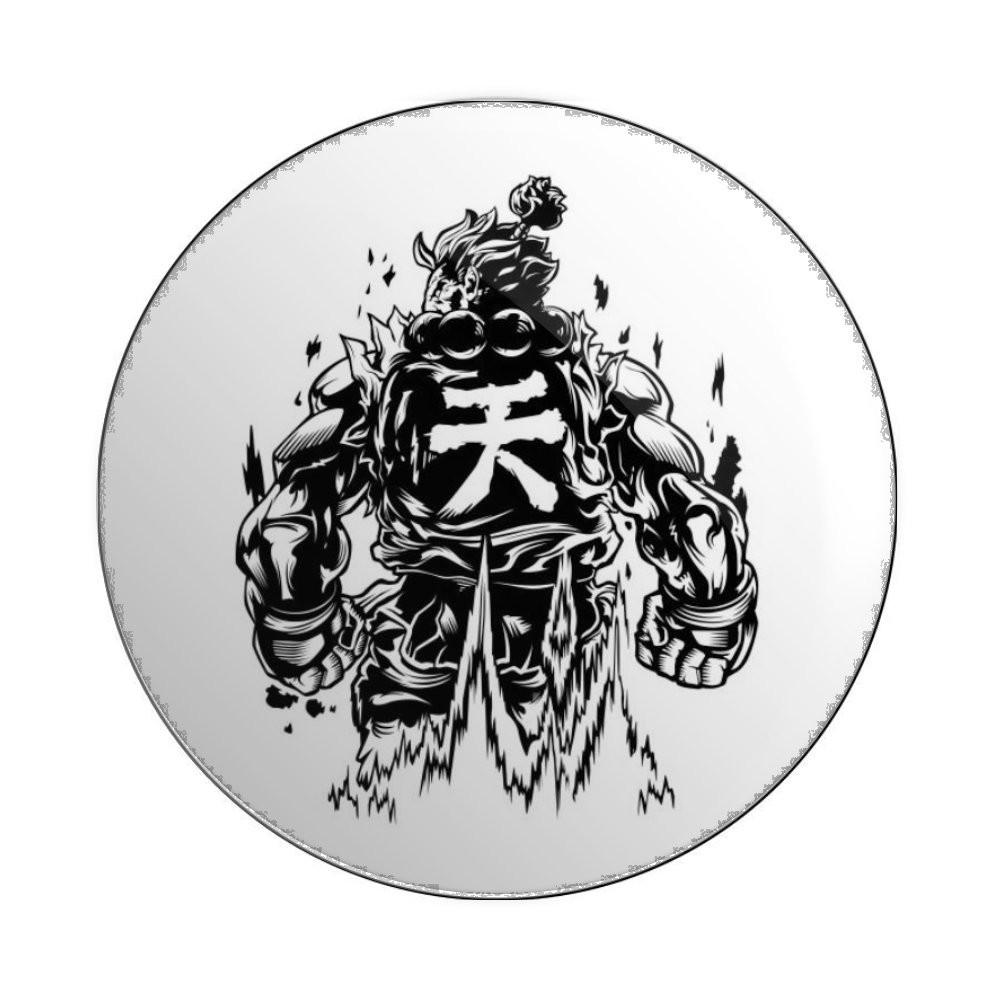 Botton Button Geek Street Fighter Akuma