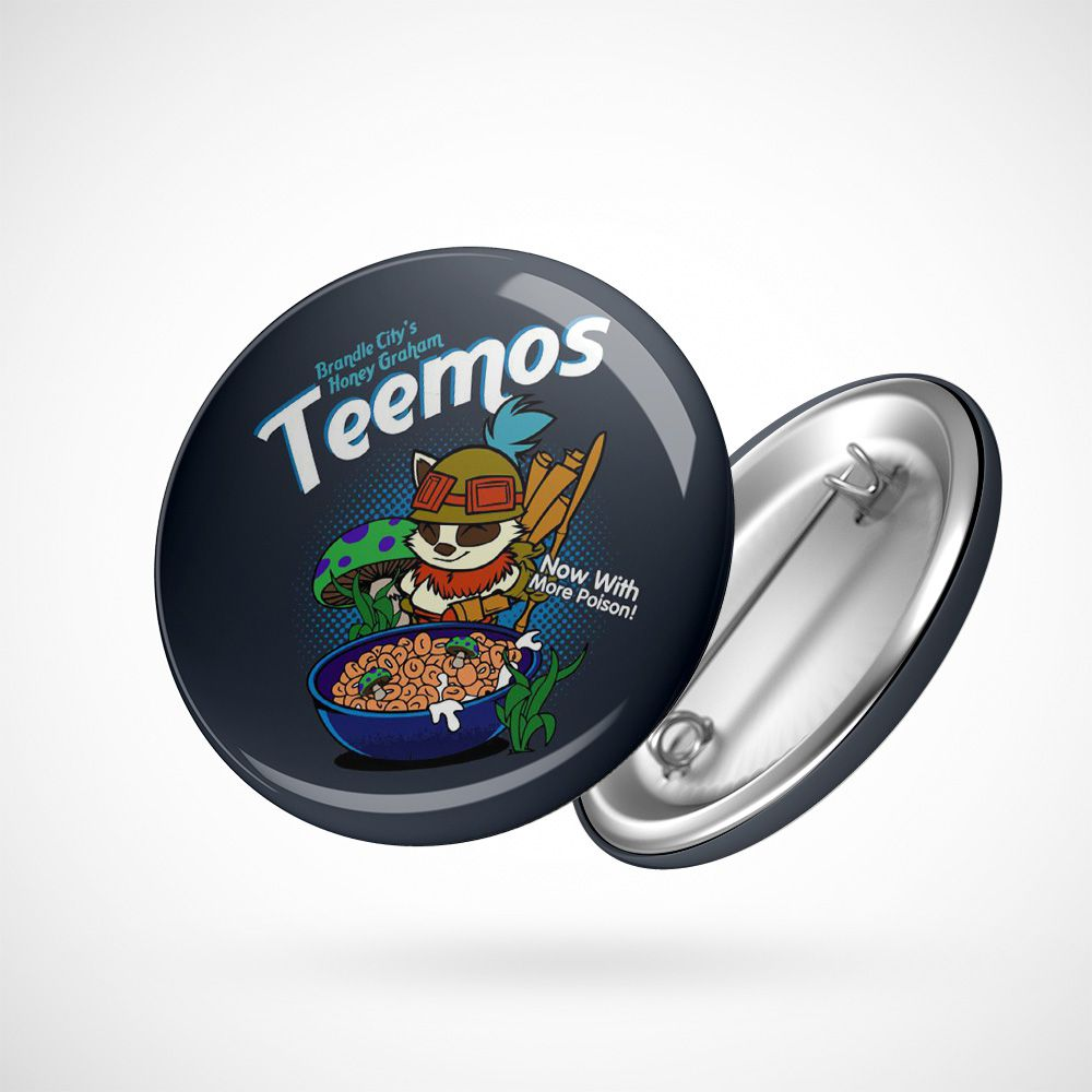 Botton Button Geek Teemo's