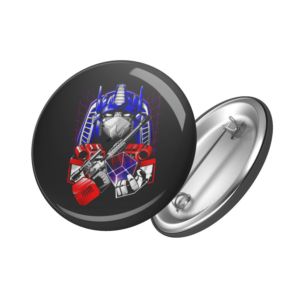 Botton Optimus Prime - Transformers - 6X6