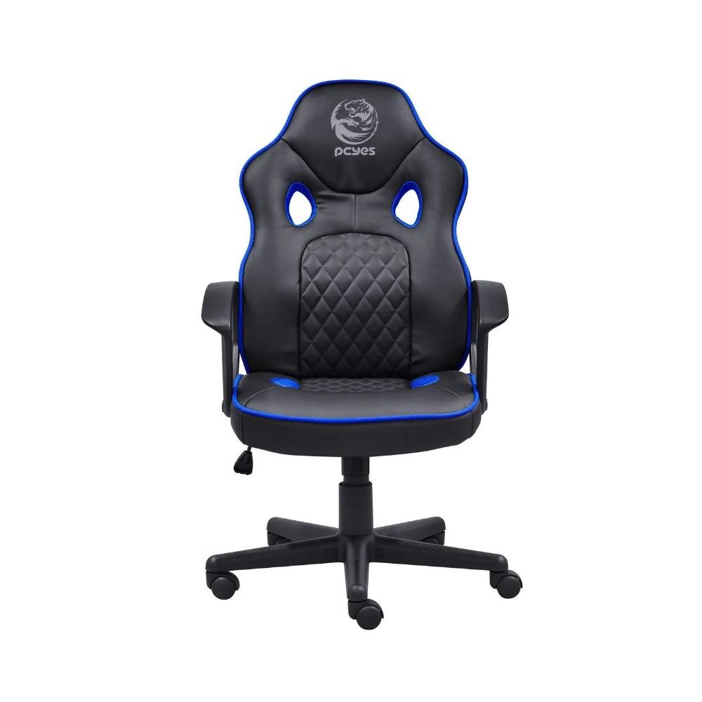 Cadeira PCYES Mad Racer STI Master Preta com Azul