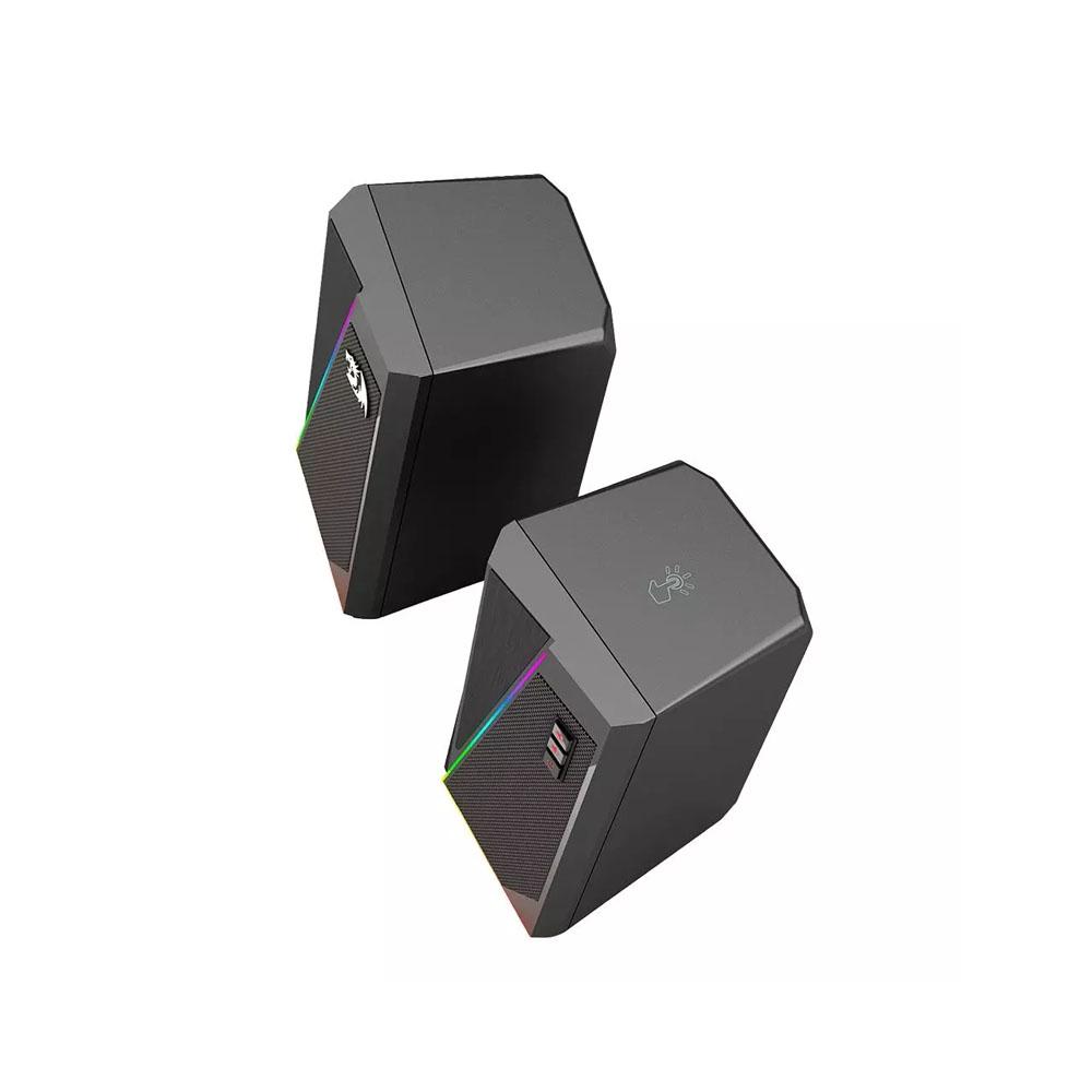 Caixa de Som Gamer Redragon, Anvil GS520, RGB, Stereo 2.0, 3.5mm, 2x5W, GS520