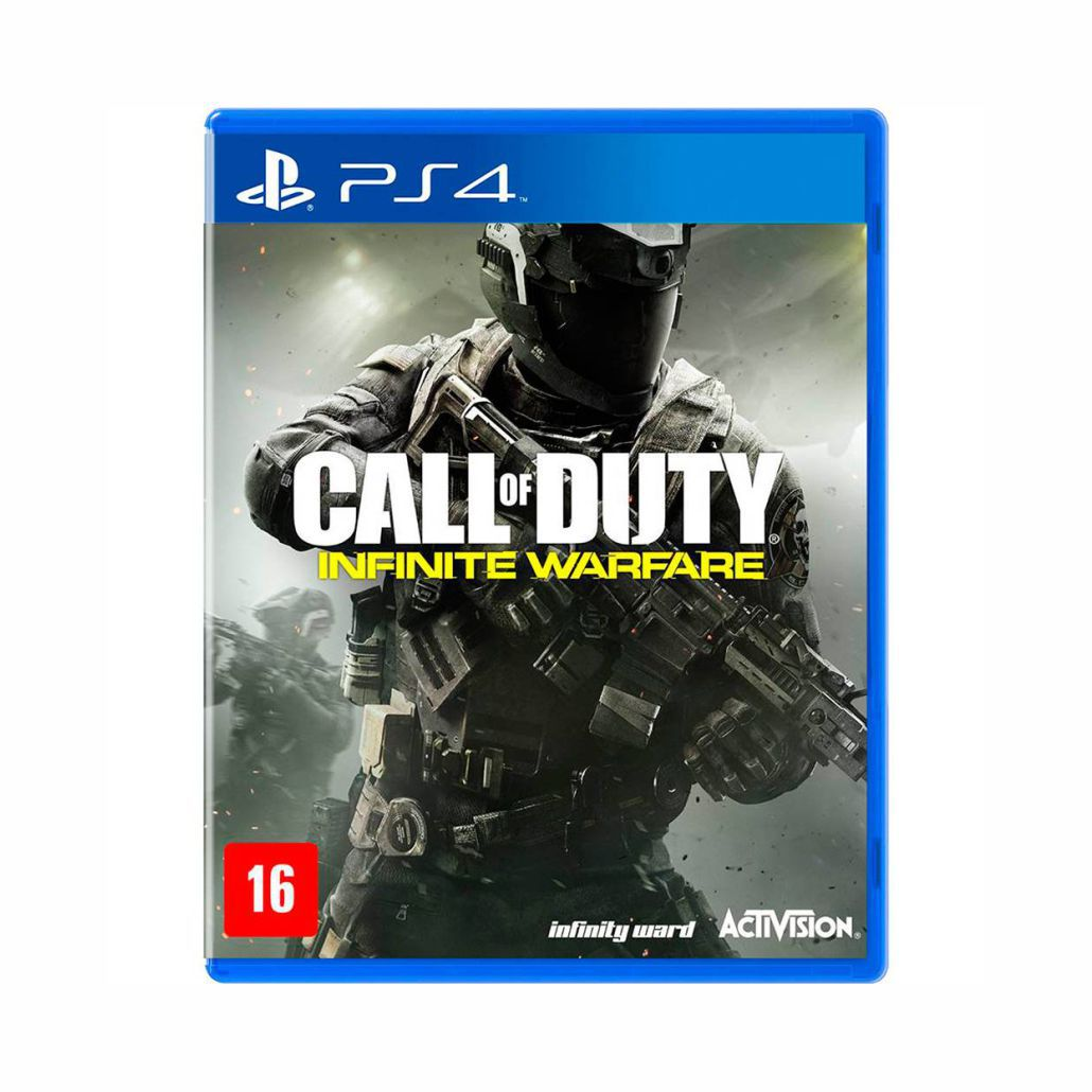 Call of Duty Infinite Warfare + Modern Warfare - PS4