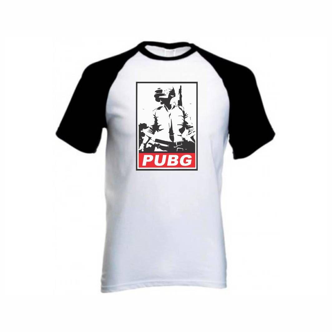 Camisa Geek PUBG - M Adulto