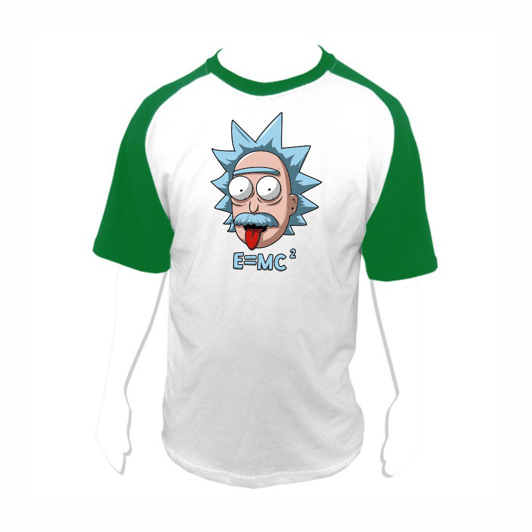 Camisa Geek Rick and Morty Rick Einstein - M Adulto