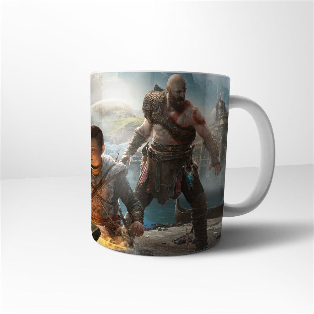 Caneca Cerâmica God of War mod 1