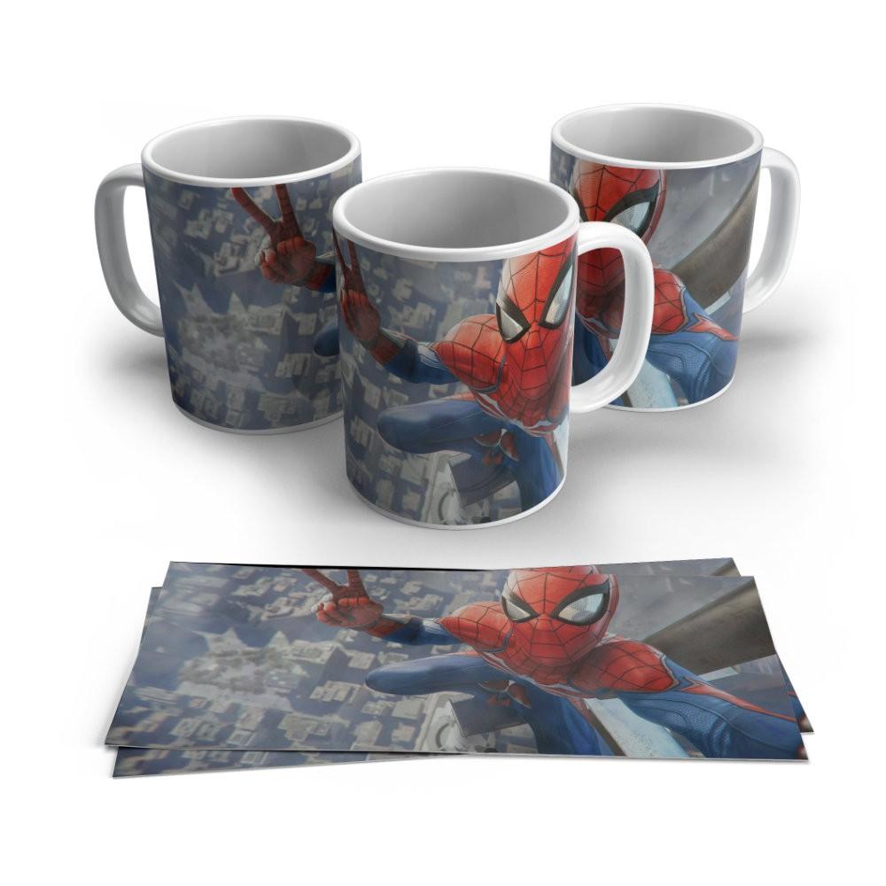 Caneca Cerâmica Homem Aranha - Marvel - 350ML
