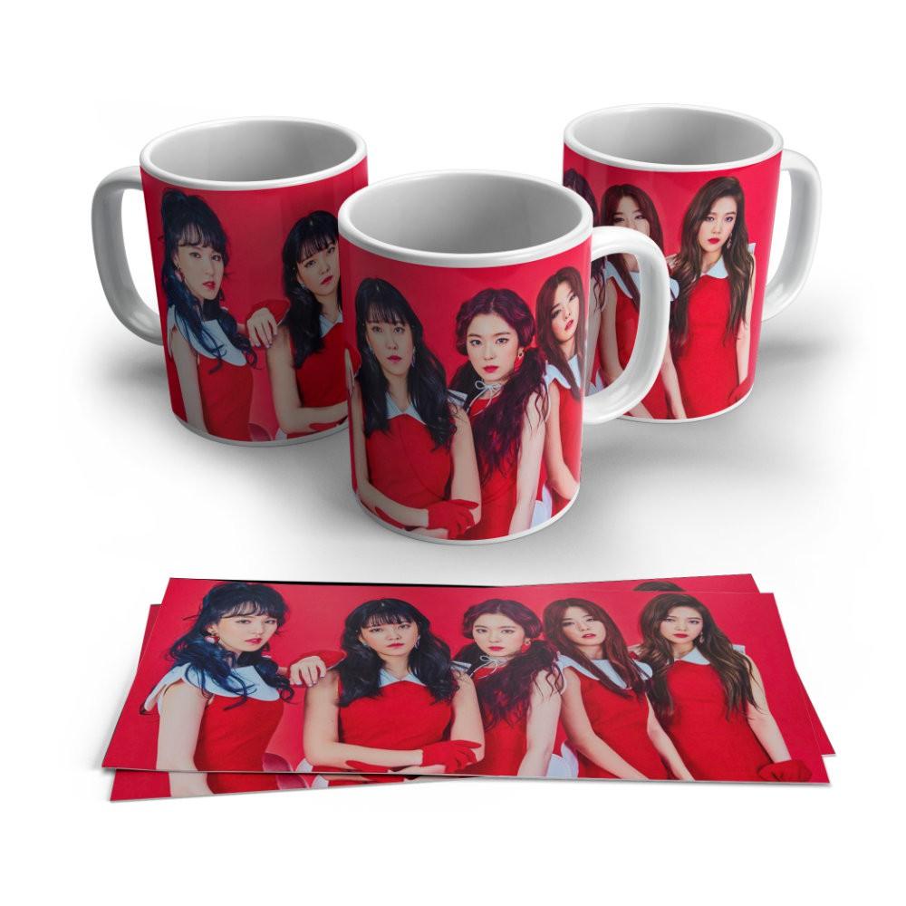 Caneca Cerâmica Red Velvet - Kpop - 350ML