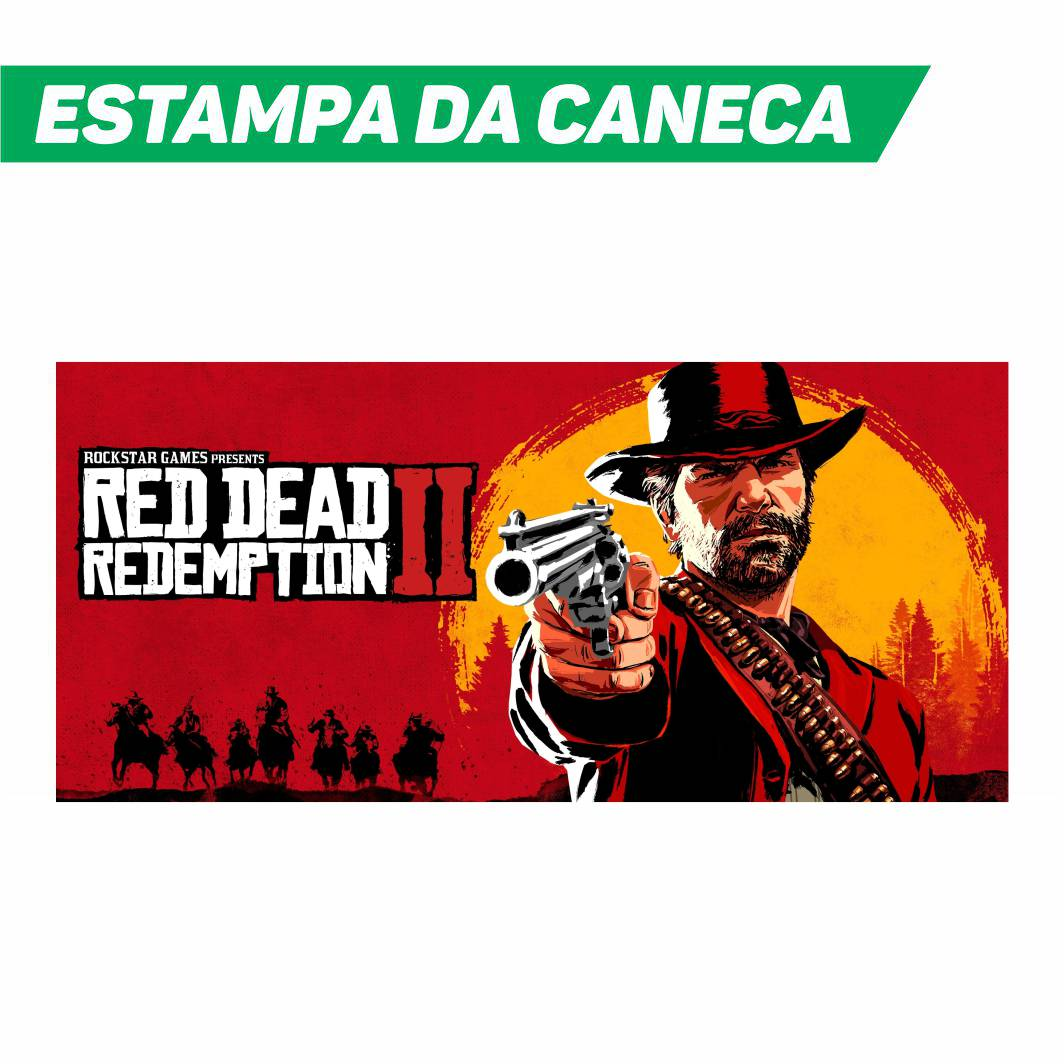 Caneca Cerâmica Red Dead Redemption 2