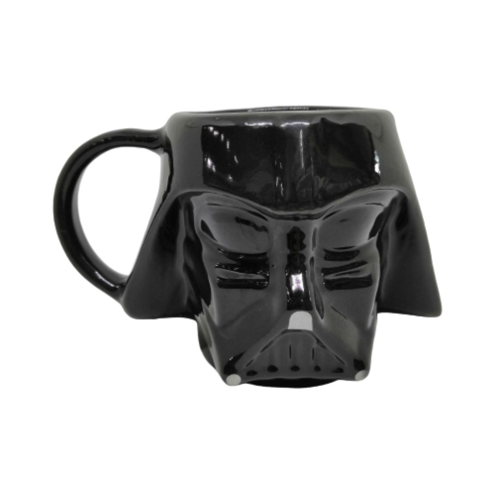 Caneca Cerâmica 3D Darth Vader - Star Wars - 500mL