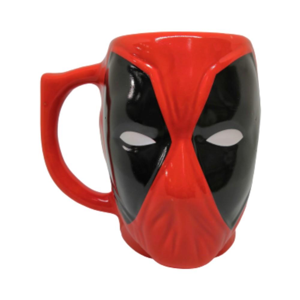 Caneca Cerâmica Formato 3D Deadpool - Marvel - 400mL