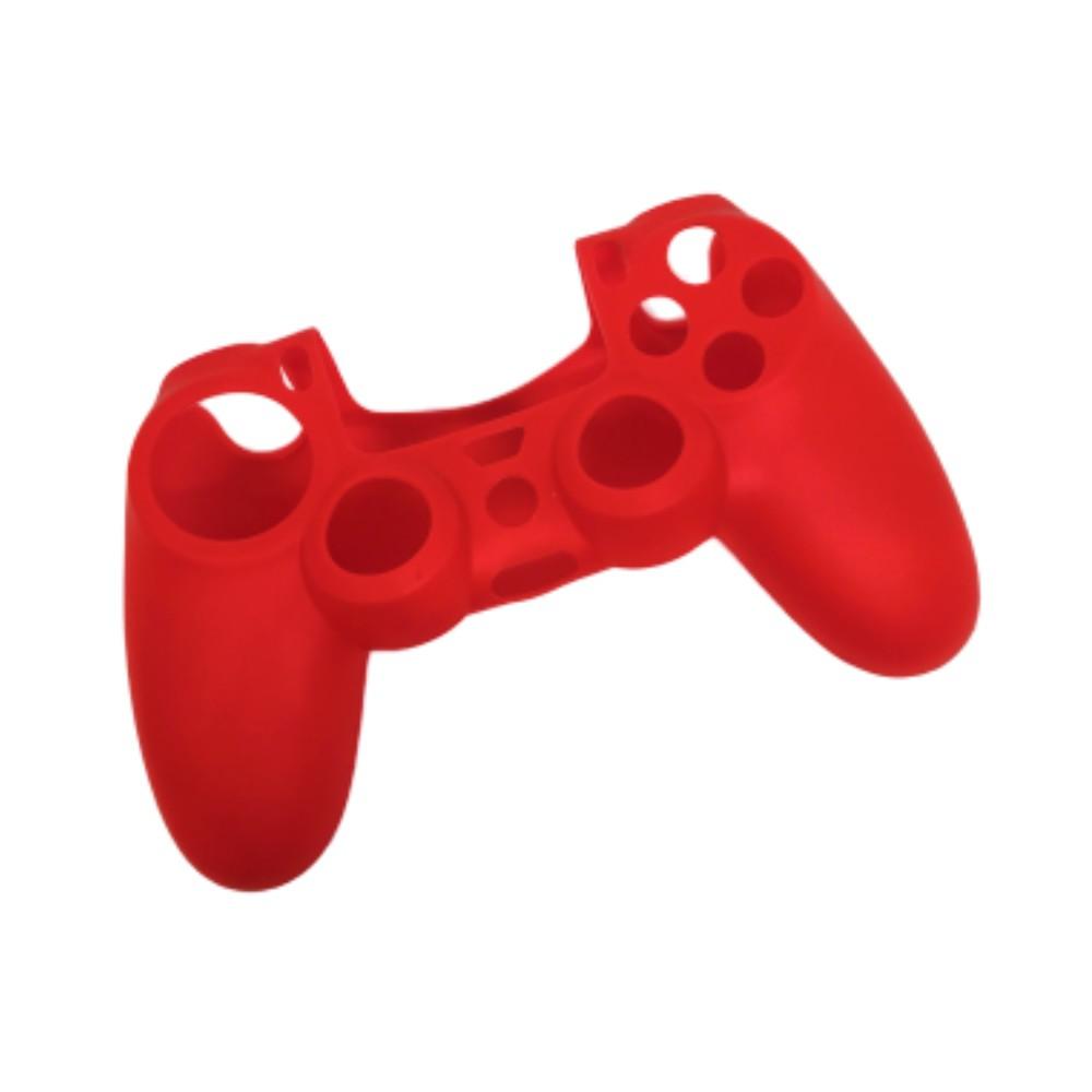 Capa de Silicone para Controle PS4 - Vermelha