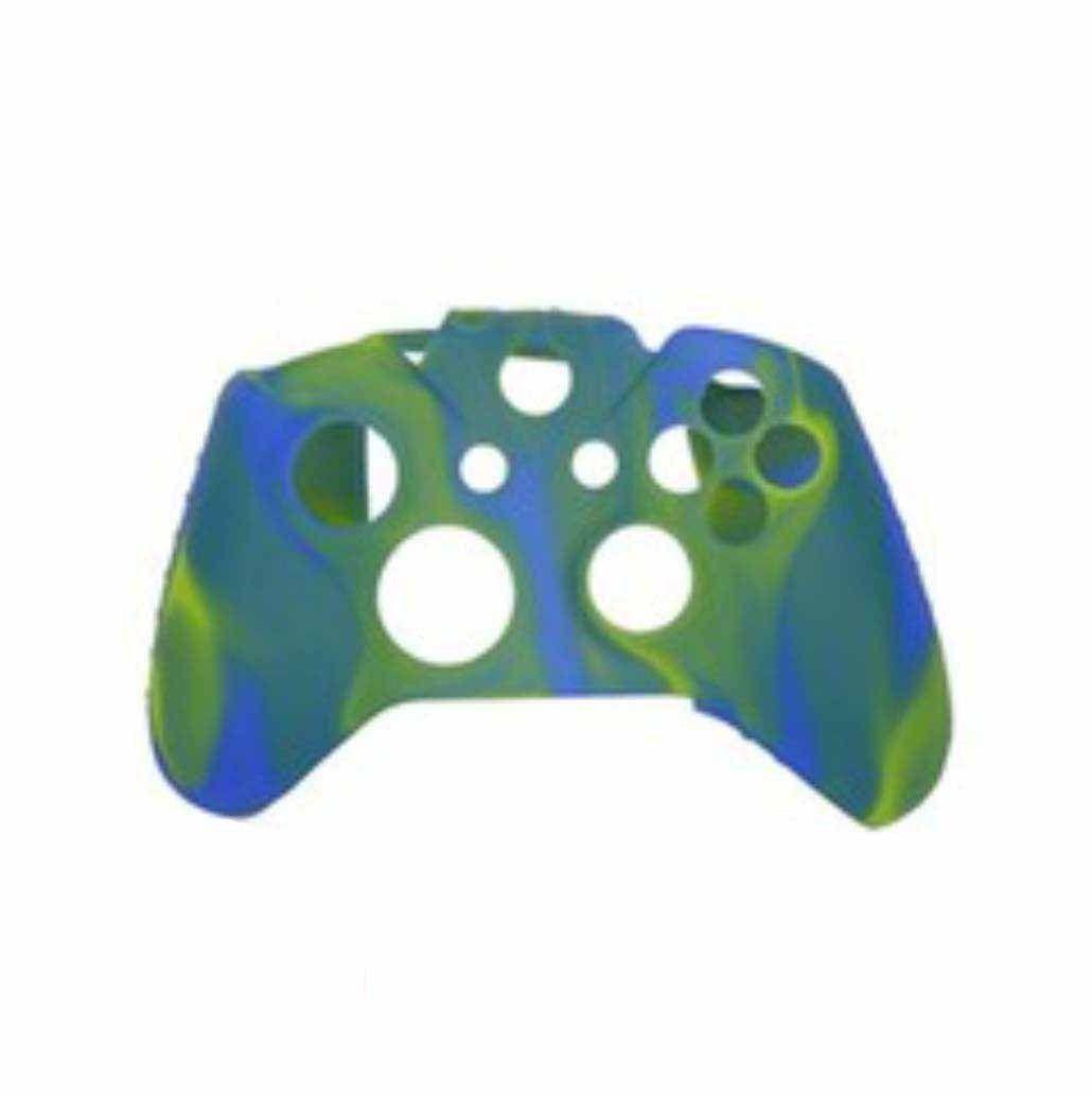 Capa de Silicone para Controle XONE Azul e Verde Modelo 1