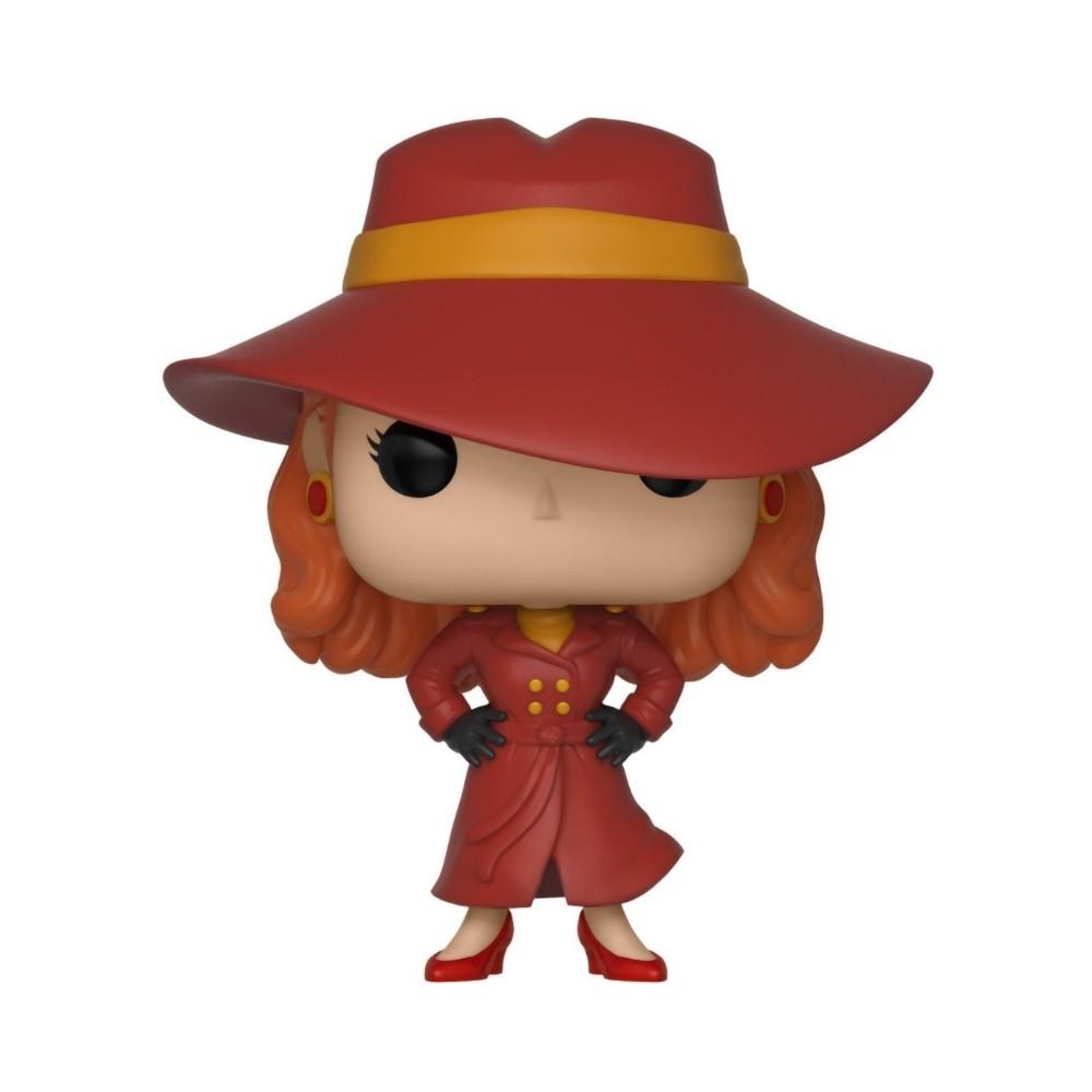 POP! Funko - Carmen SanDiego 662 - Where in the World is Carmen Sandiego?
