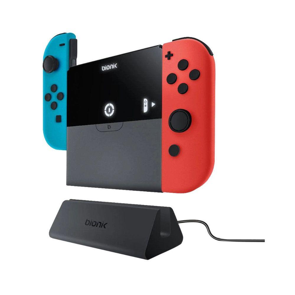 Carregador Nintendo Switch Bionik Power Plate