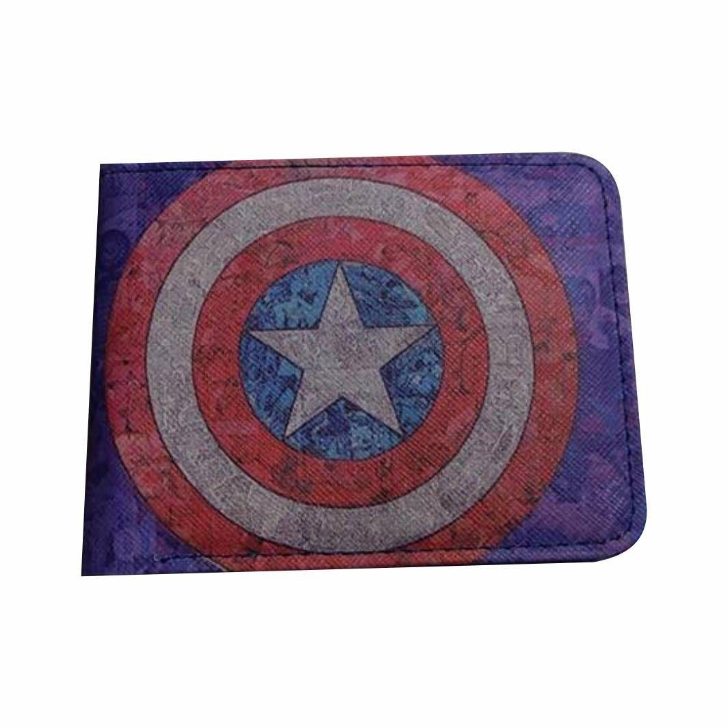 Carteira Geek Capitão América