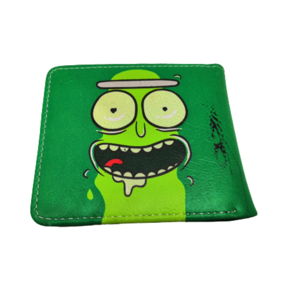 Carteira Geek Rick and Morty Pickle Rick