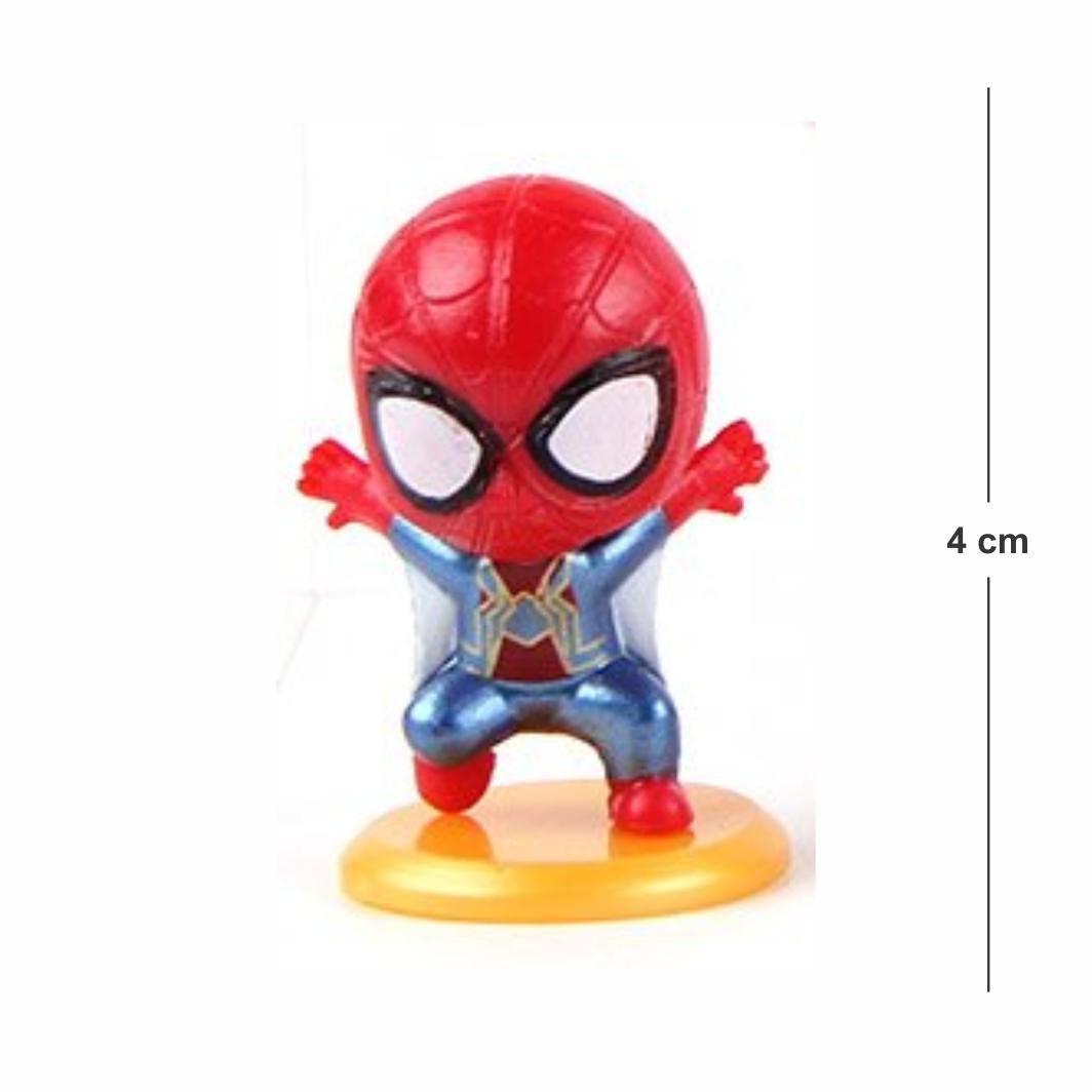 Chaveiro Avengers Homem Aranha mod.4 4CM