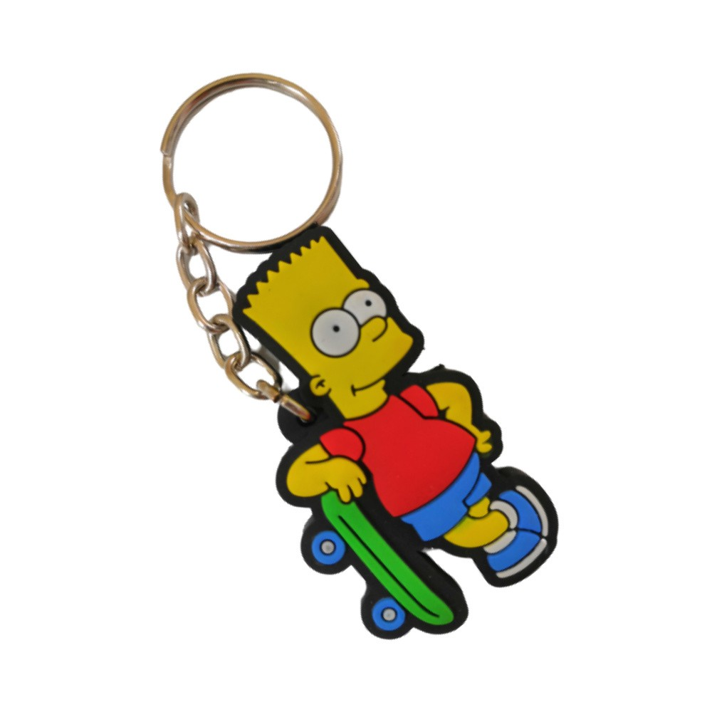 Chaveiro Emborrachado Bart Simpson - The Simpsons - 5CM