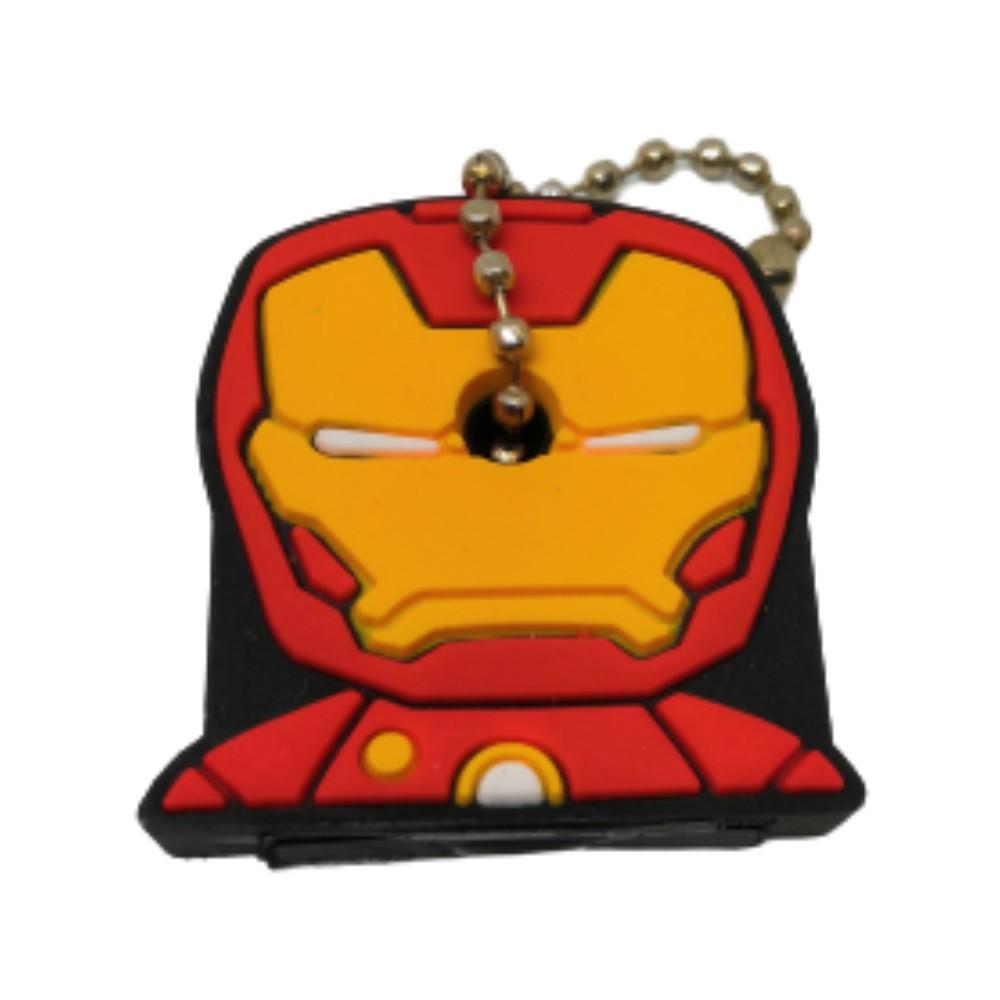 Chaveiro Capa De Chave Homem de Ferro - Vingadores Marvel - 4CM