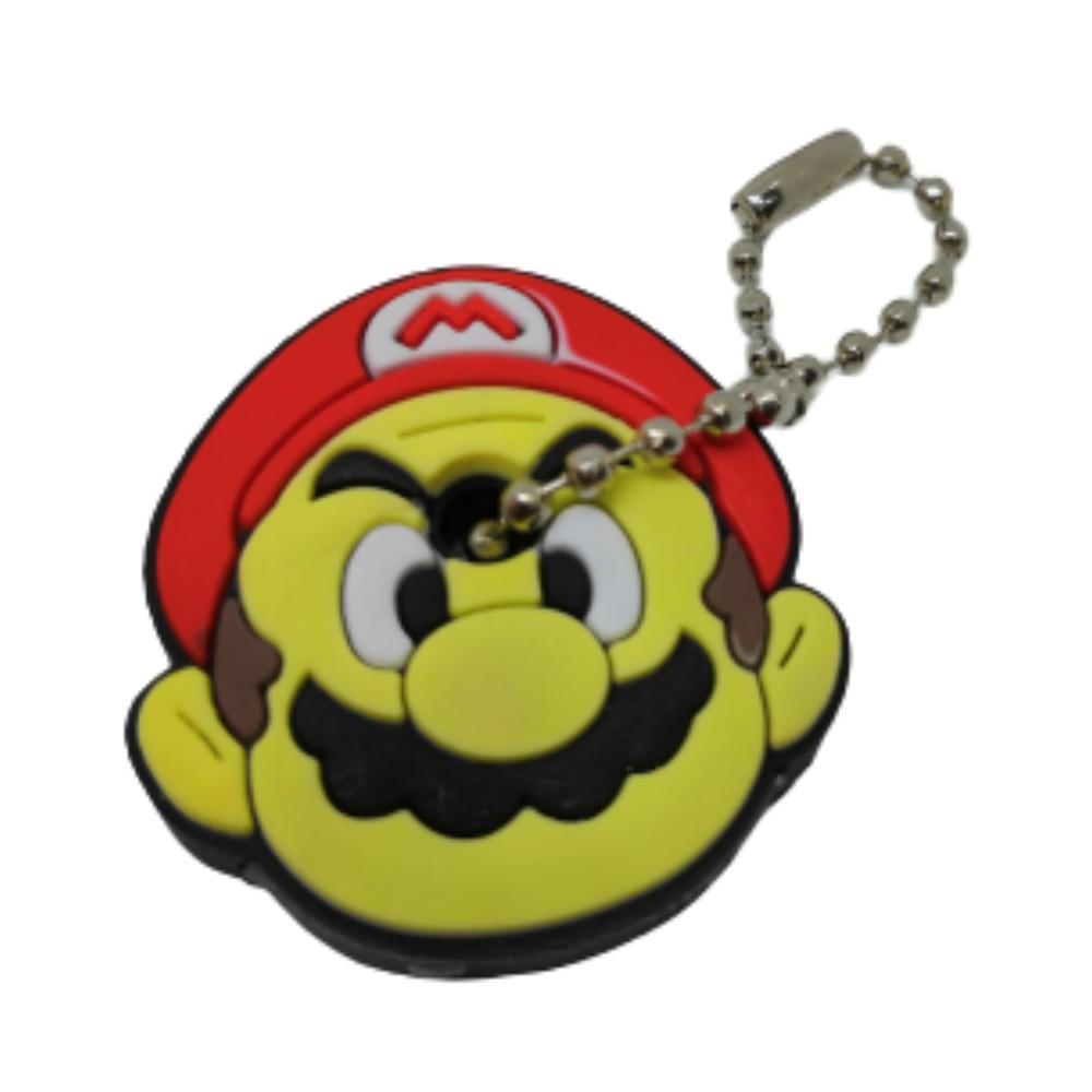 Chaveiro Capa de Chave Mario - Super Mario - 4CM