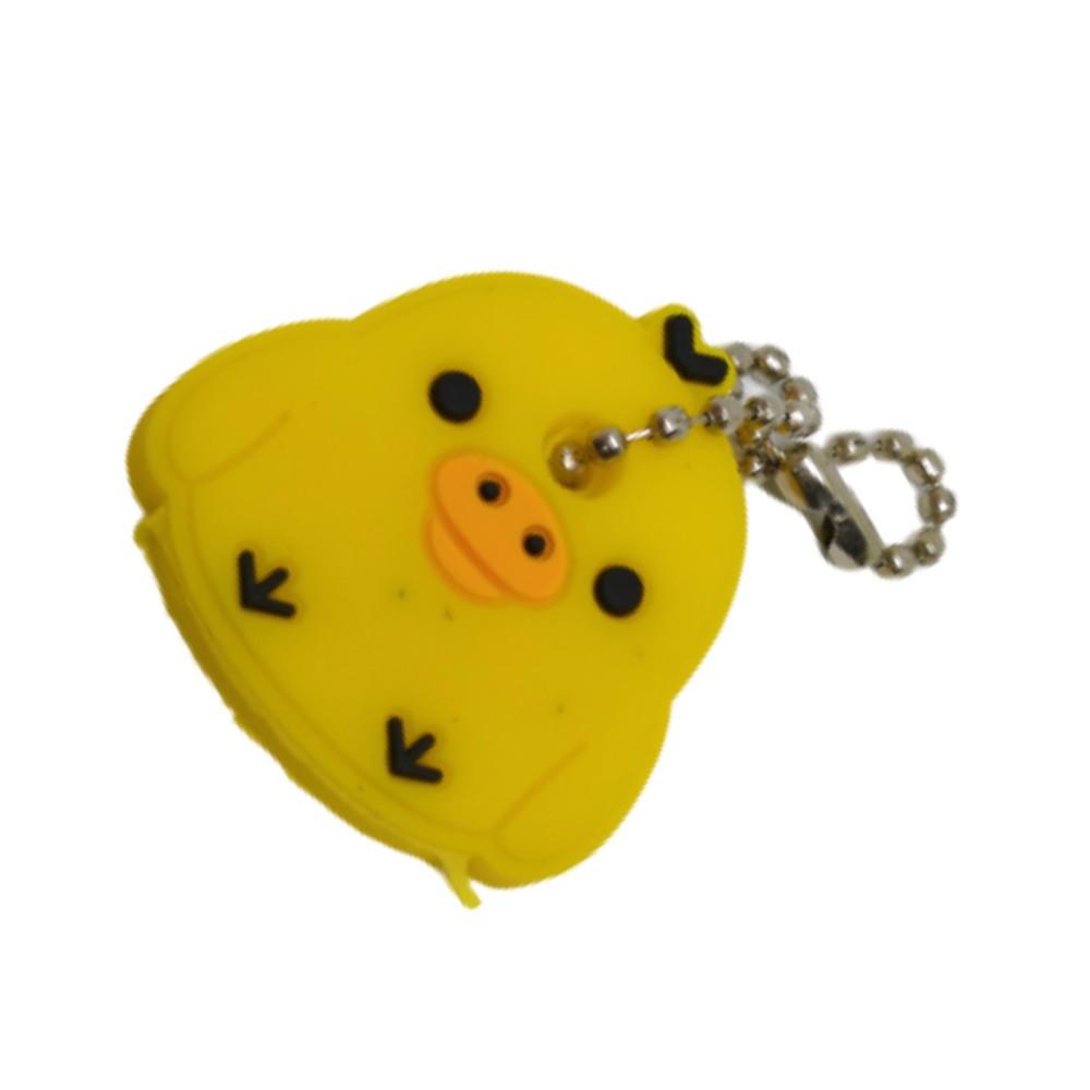 Chaveiro Capa de Chave Pintinho Amarelo - 4CM