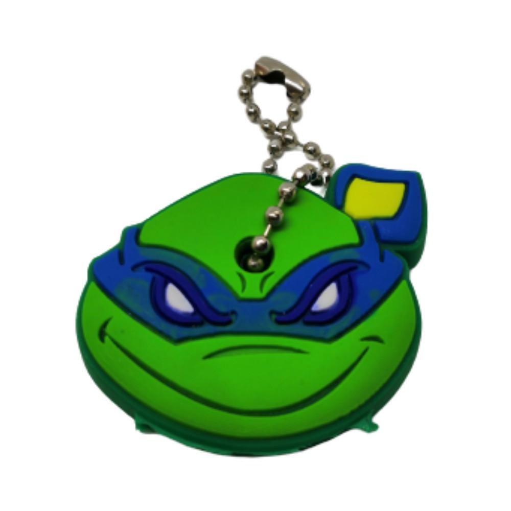 Chaveiro Capa de Chave Tartarugas Ninjas Leonardo - 4CM