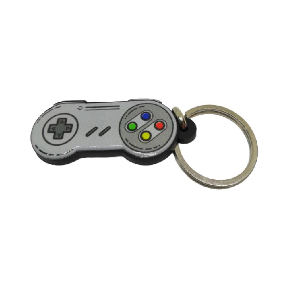 Chaveiro Resinado Controle Super Nintendo - 5CM
