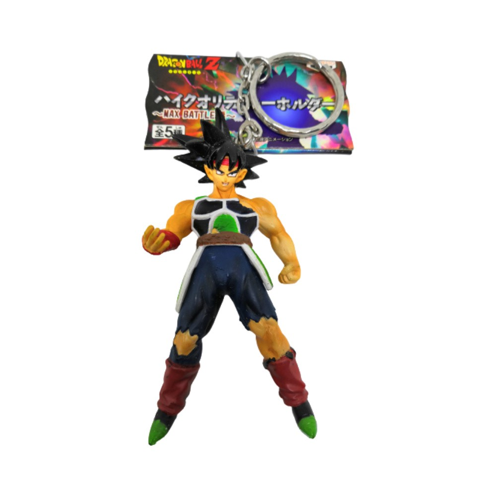 Chaveiro Bardock - Dragon Ball Z DBZ - Banpresto - 9CM