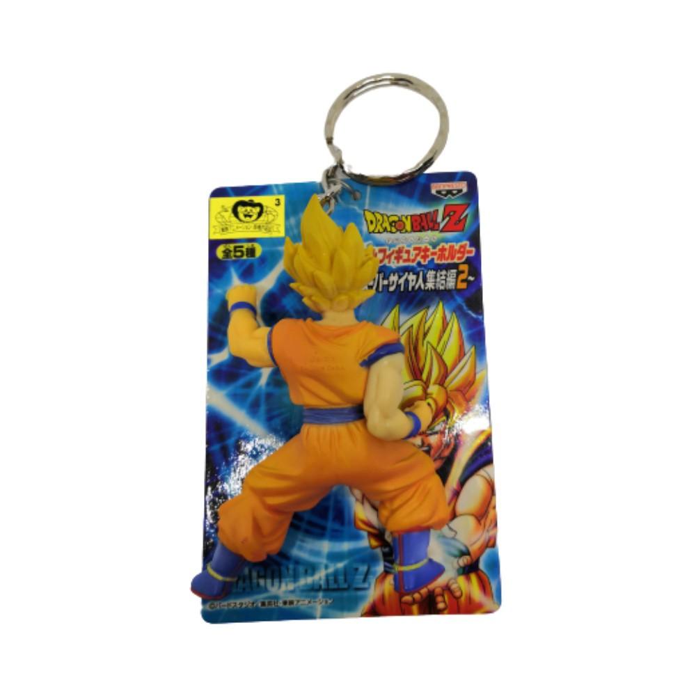 Chaveiro Goku SSJ - Dragon Ball Z DBZ - Banpresto - 9CM