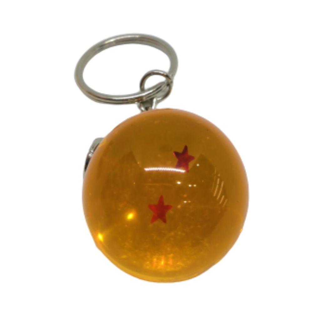 Chaveiro DBZ Esfera do Dragão 2 Estrelas