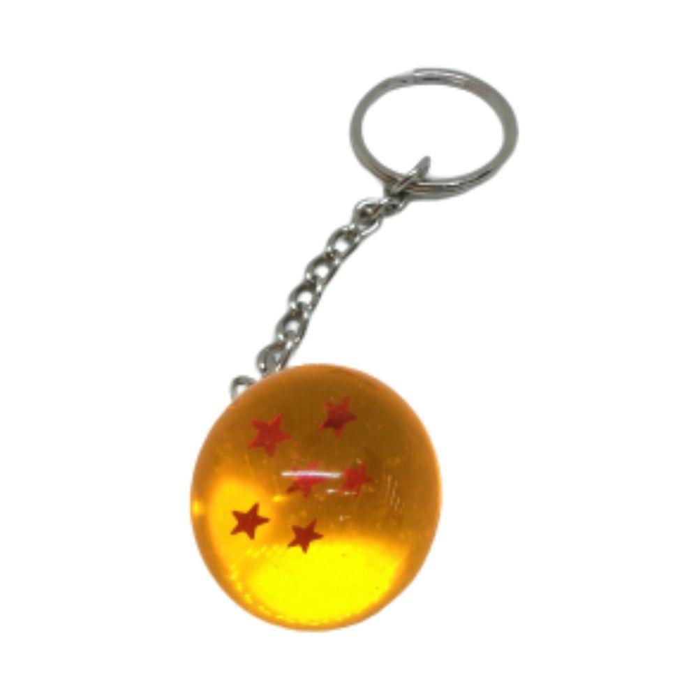 Chaveiro DBZ Esfera do Dragão 6 Estrelas