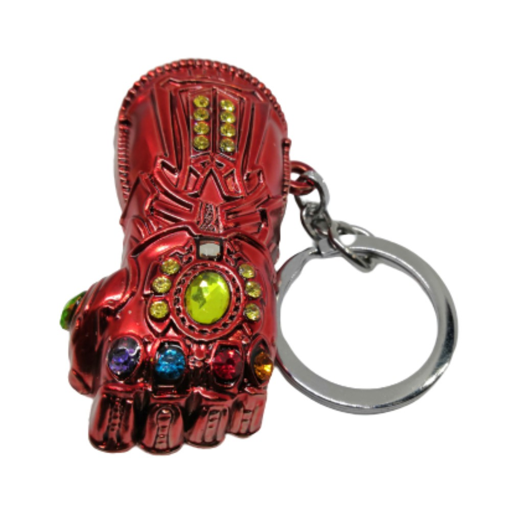 Chaveiro Metal Manopla Stark - Vingadores Marvel - 7CM