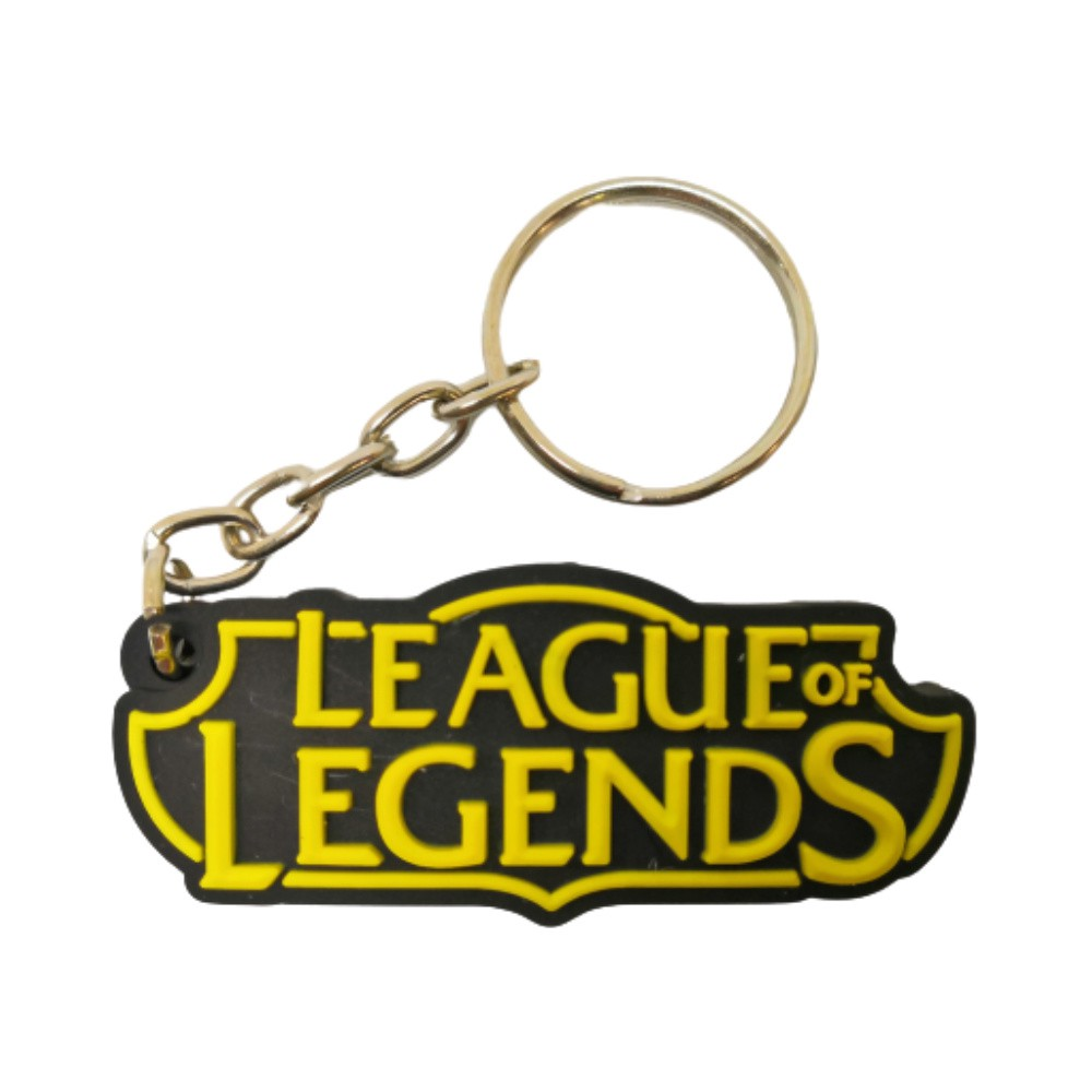 Chaveiro Emborrachado League of Legends - 5CM