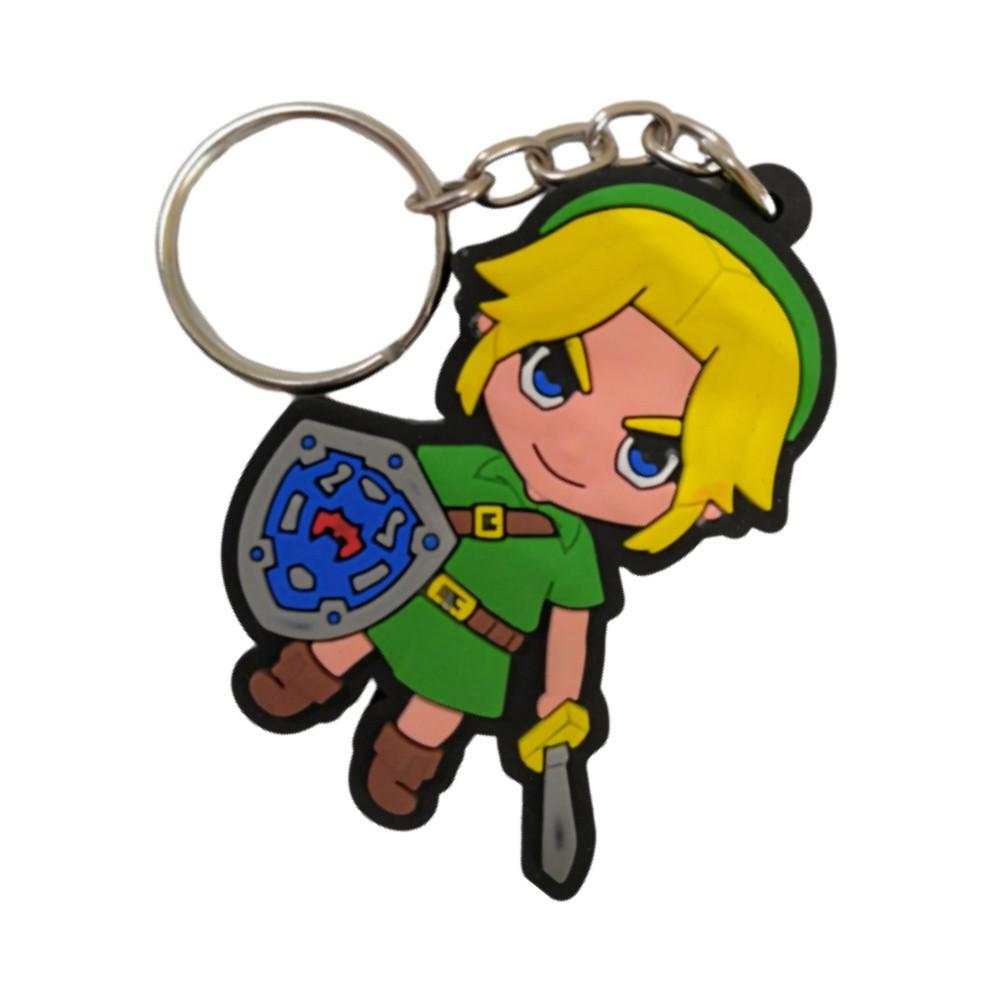 Chaveiro Emborrachado Link - The Legend of Zelda - 5CM