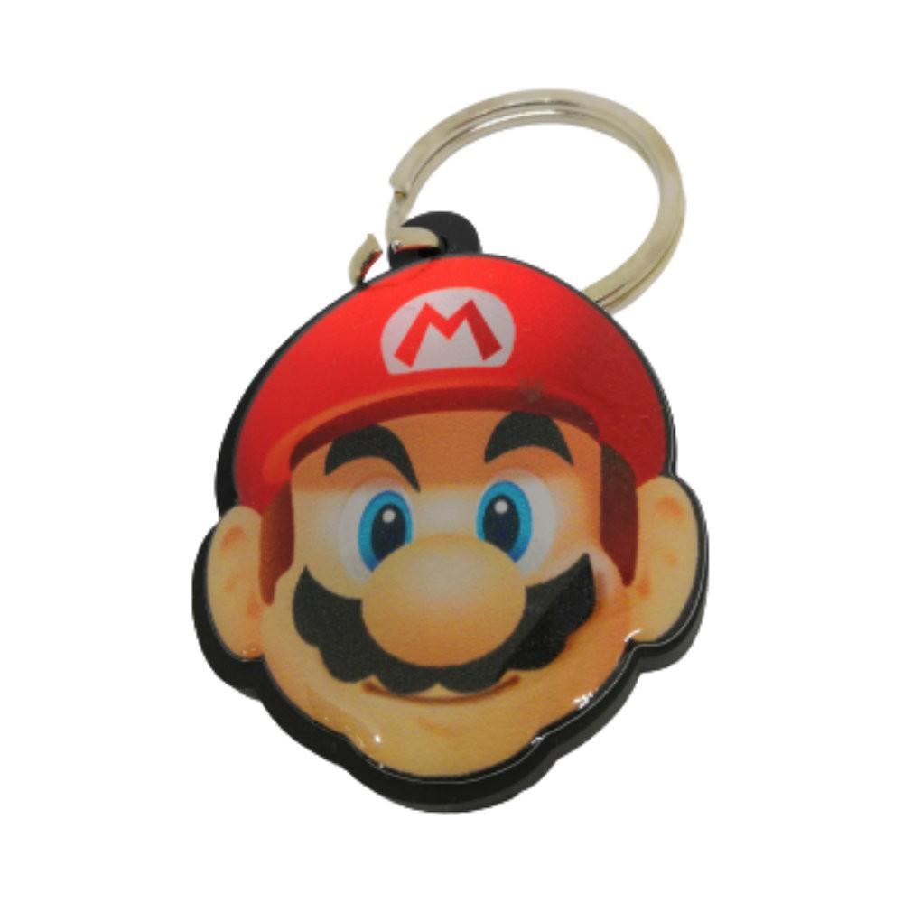 Chaveiro Resinado Mario Bros - Super Mario - 5CM