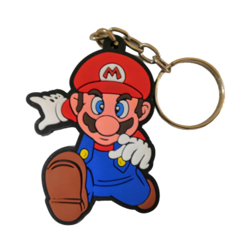 Chaveiro Emborrachado Mario - Super Mario - 5CM