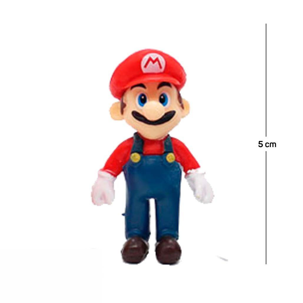 Chaveiro Mario Modelo 1 5CM PVC