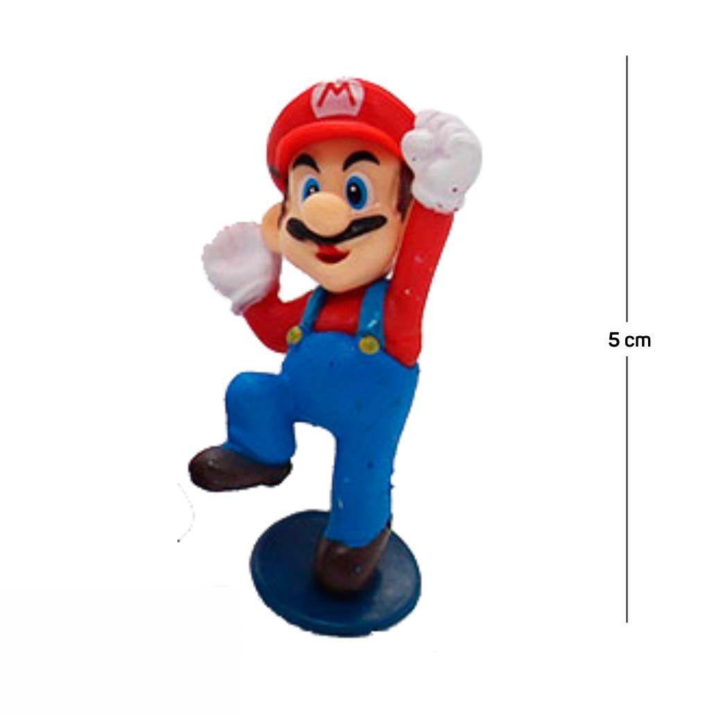 Chaveiro Mario Modelo 2 5CM PVC