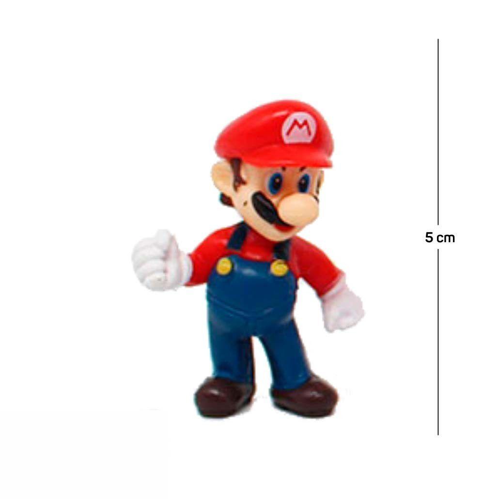 Chaveiro Mario Modelo 3 5CM PVC