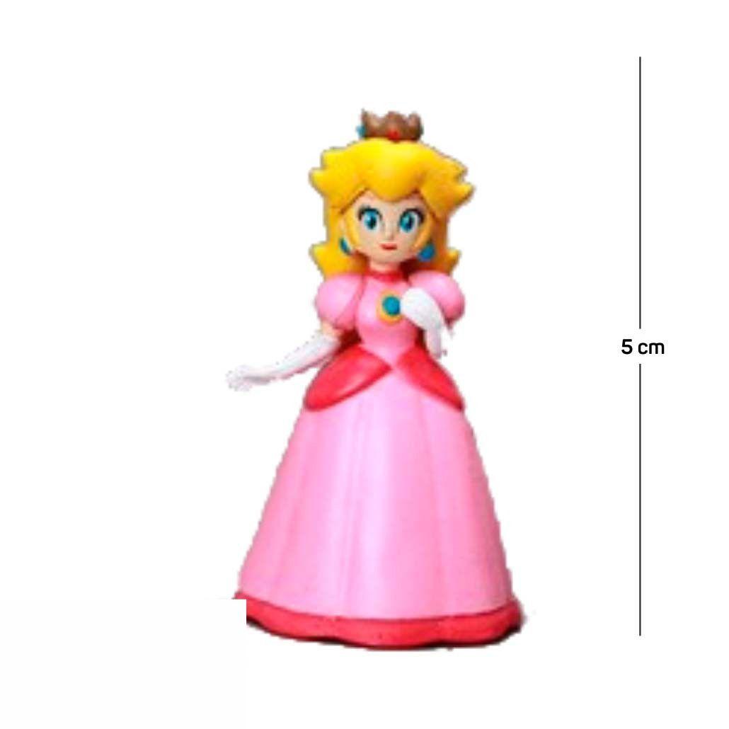 Chaveiro Mario Peach 5CM PVC